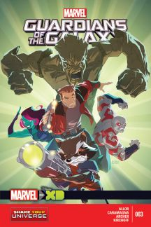 Marvel Universe Guardians of the Galaxy #3