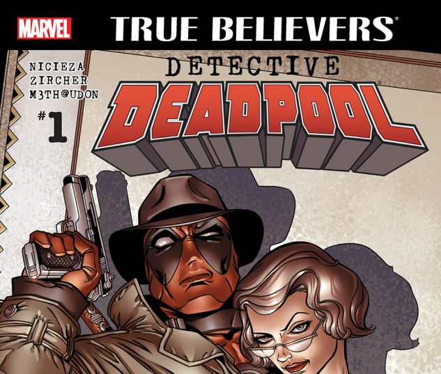 cover from True Believers: Detective Deadpool (2016) #1