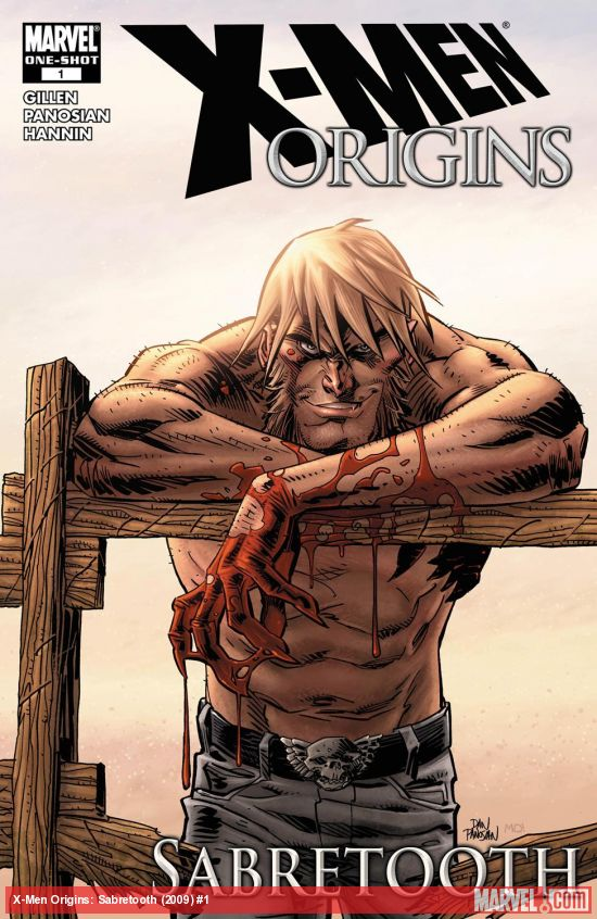 X-Men Origins: Sabretooth (2009) #1