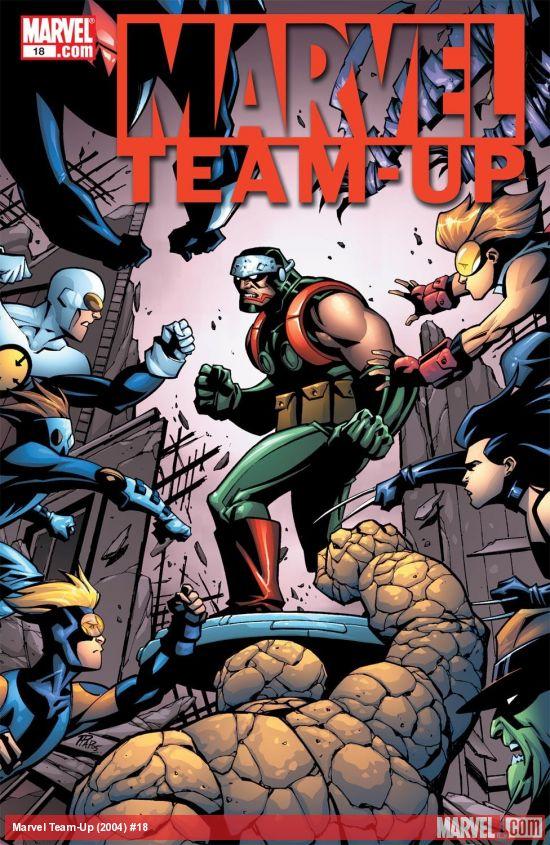 Marvel Team-Up (2004) #18