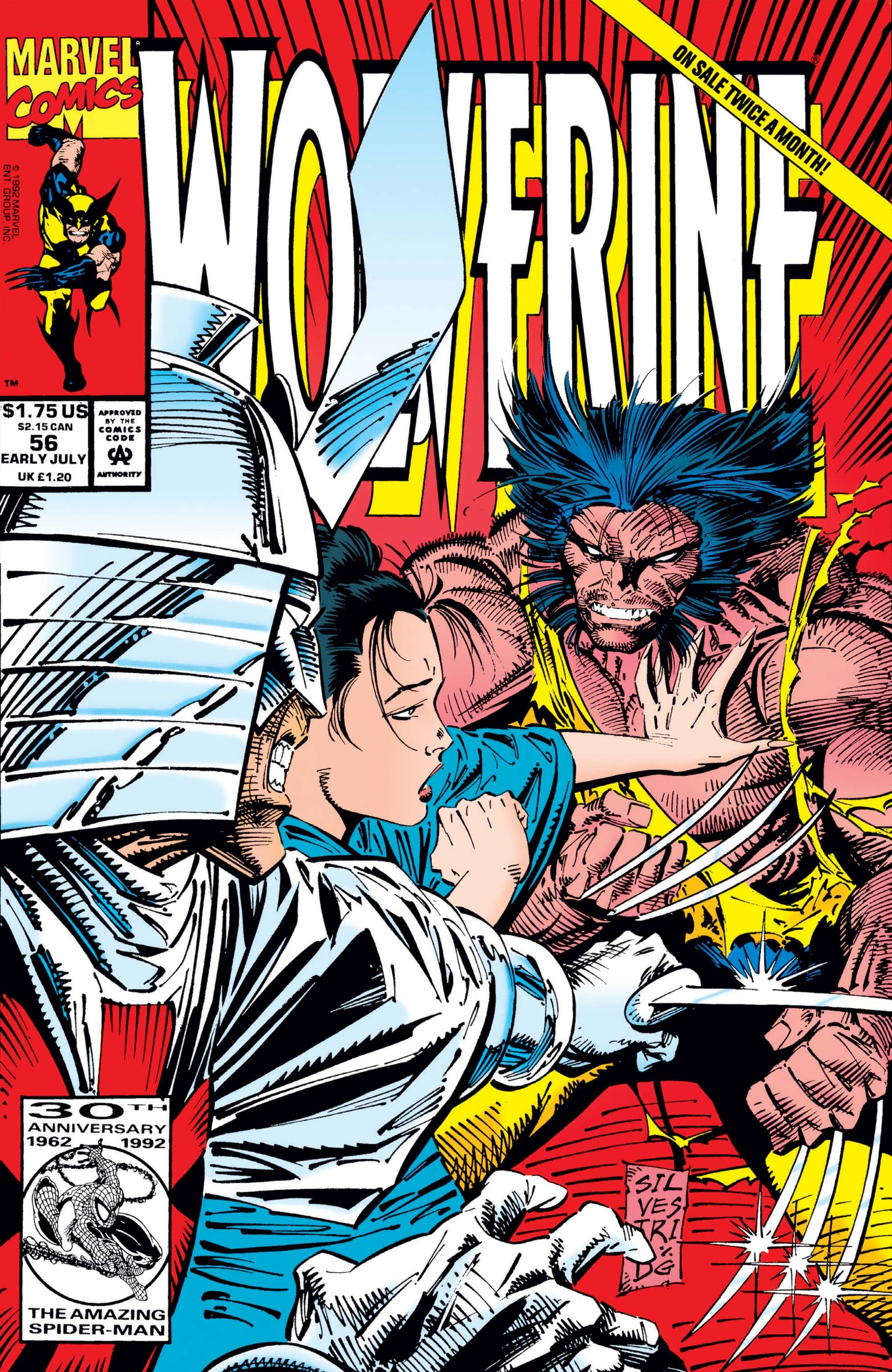 Wolverine (1988) #56