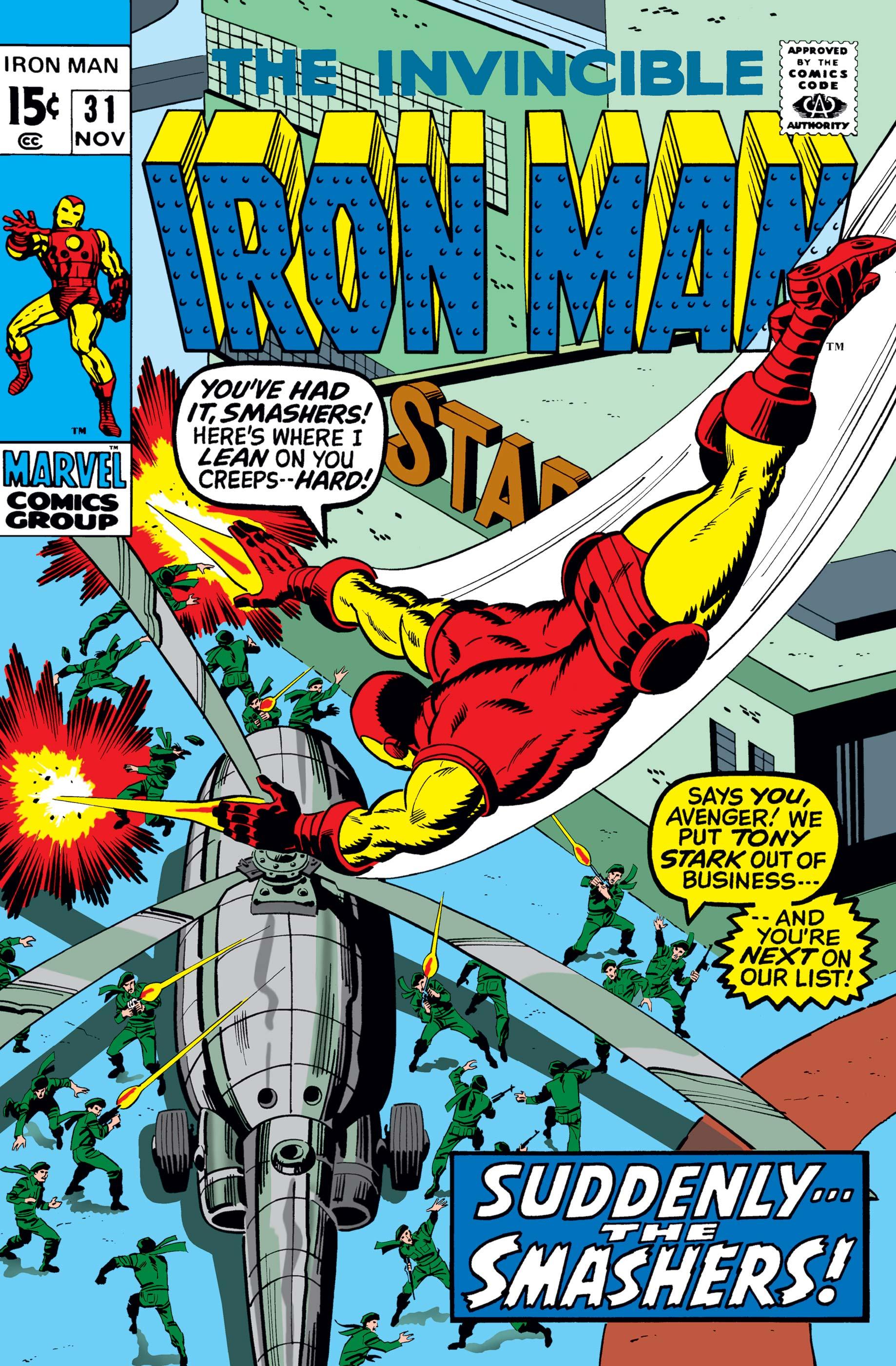 Iron Man (1968) #31