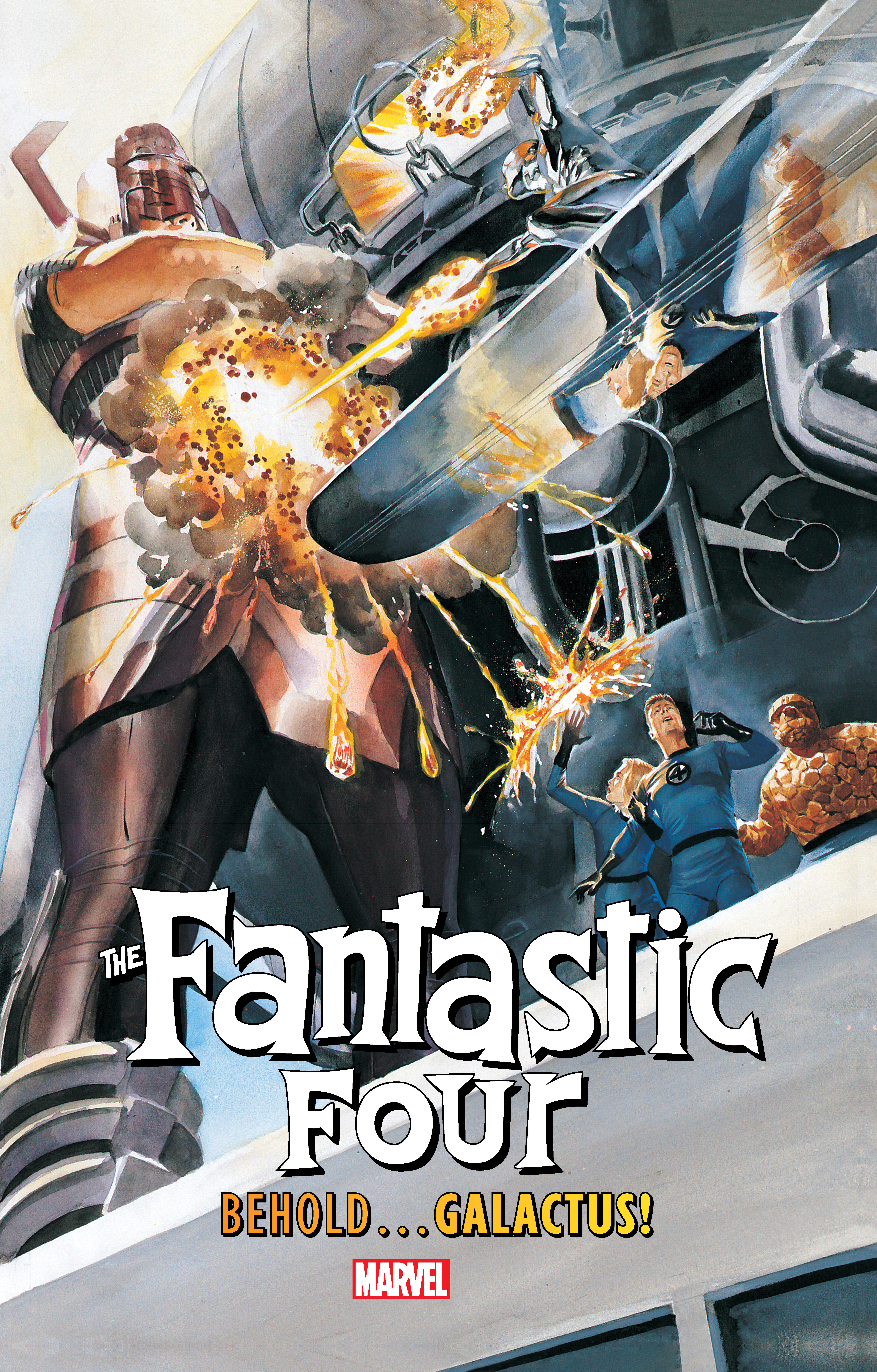 Fantastic Four: Behold...Galactus! (Hardcover)
