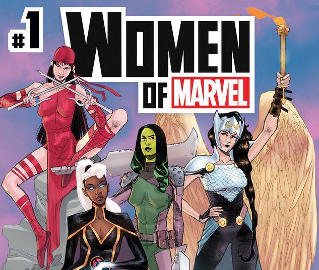 WOMEN OF MARVEL 1 #1