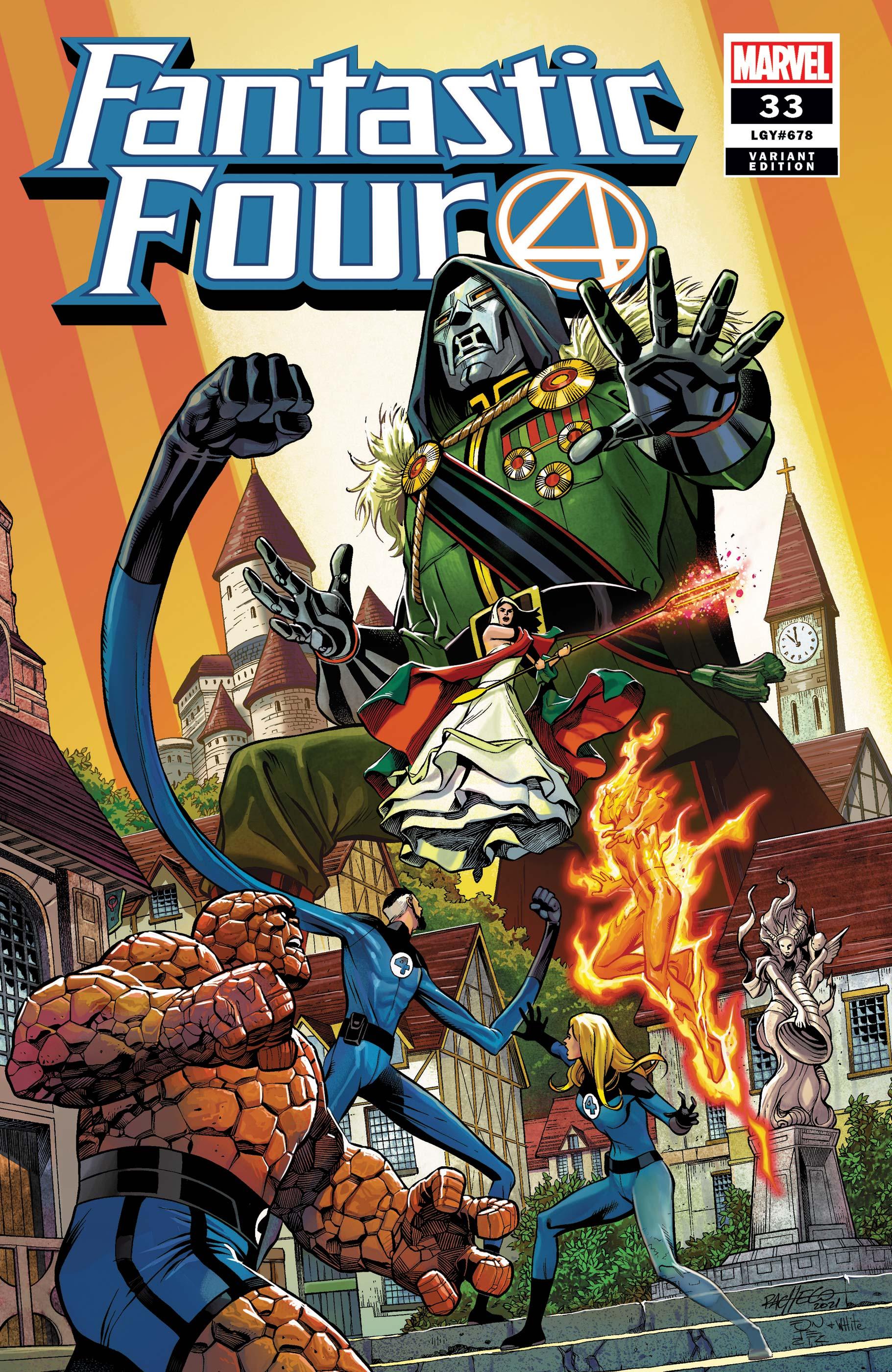 Fantastic Four (2018) #33 (Variant)