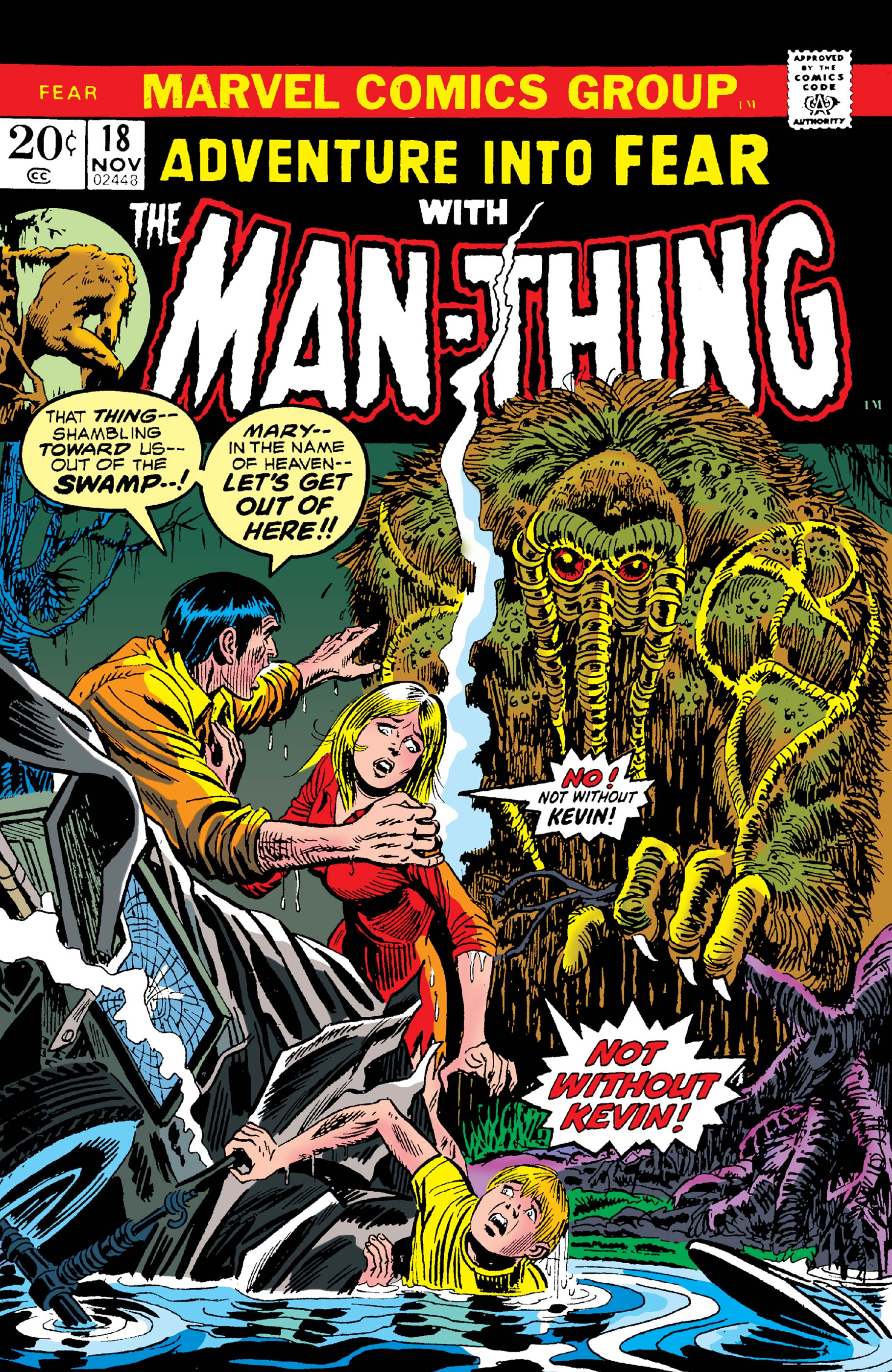 Adventures Into Fear (1970) #18