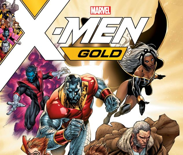 cover from X-Men: Gold (2017) #1