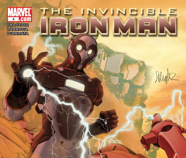 Invincible Iron Man (2008) #4