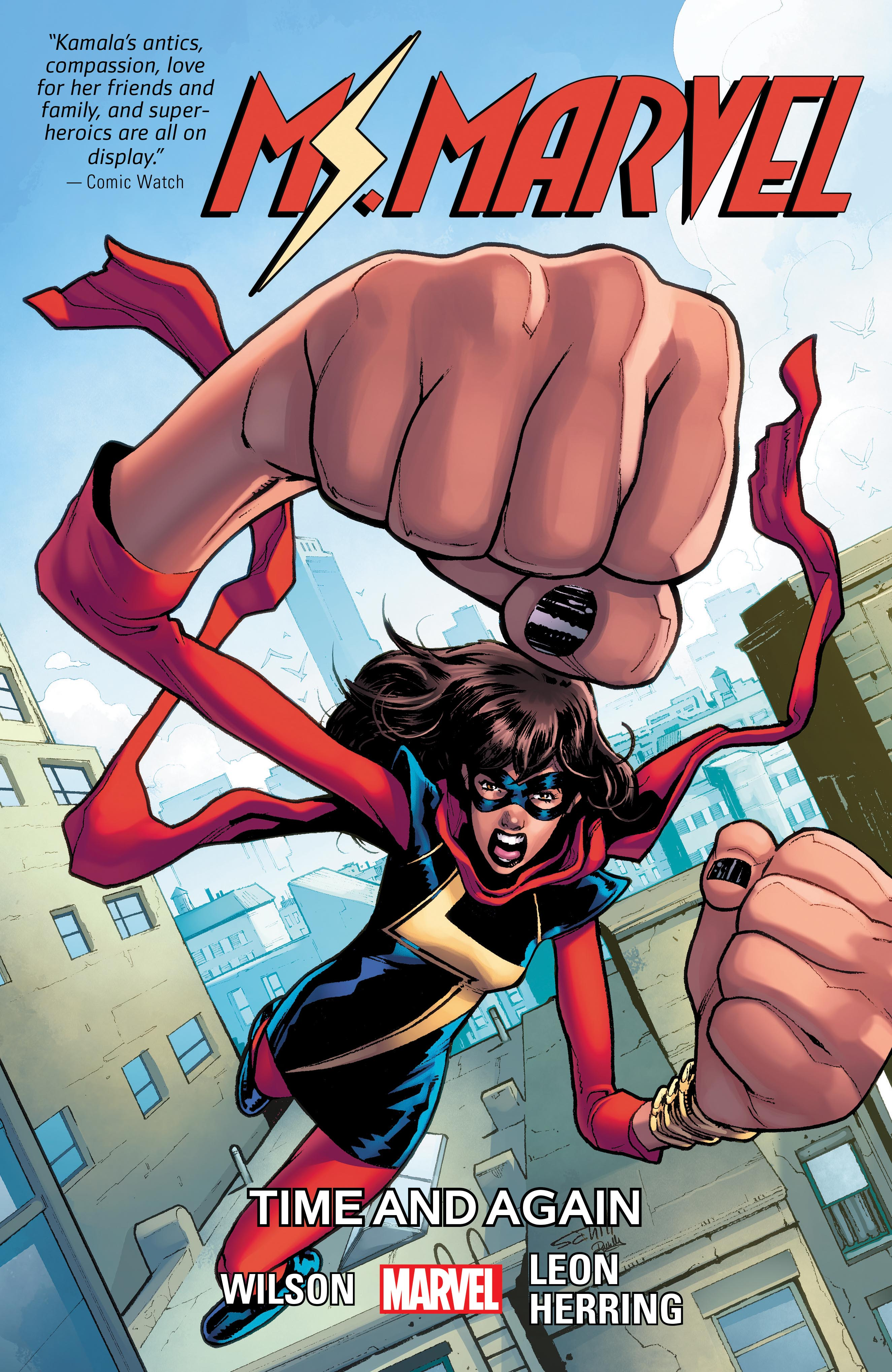 Ms. Marvel Vol. 10: Time And Again (Trade Paperback)