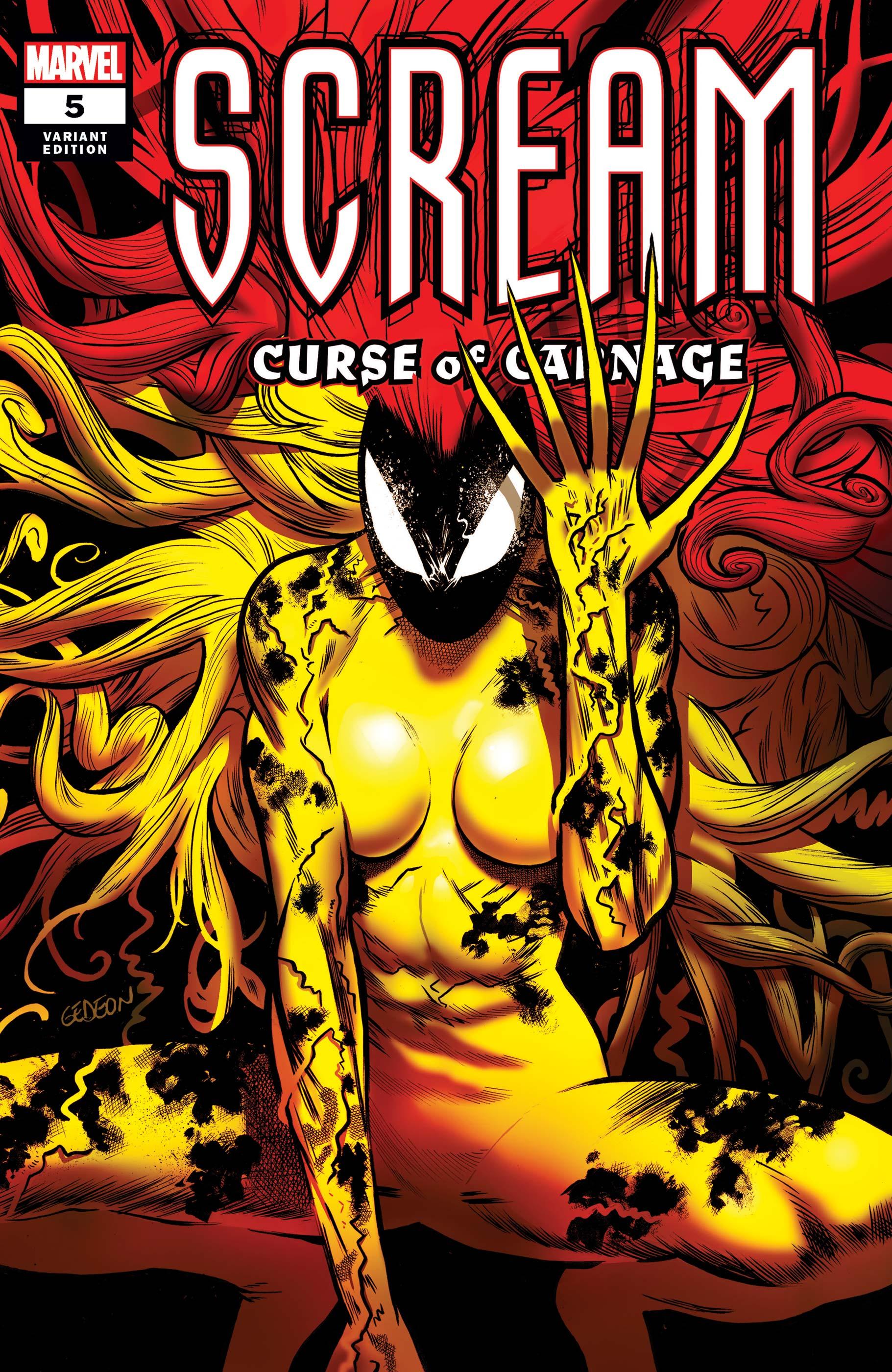 Scream: Curse of Carnage (2019) #5 (Variant)