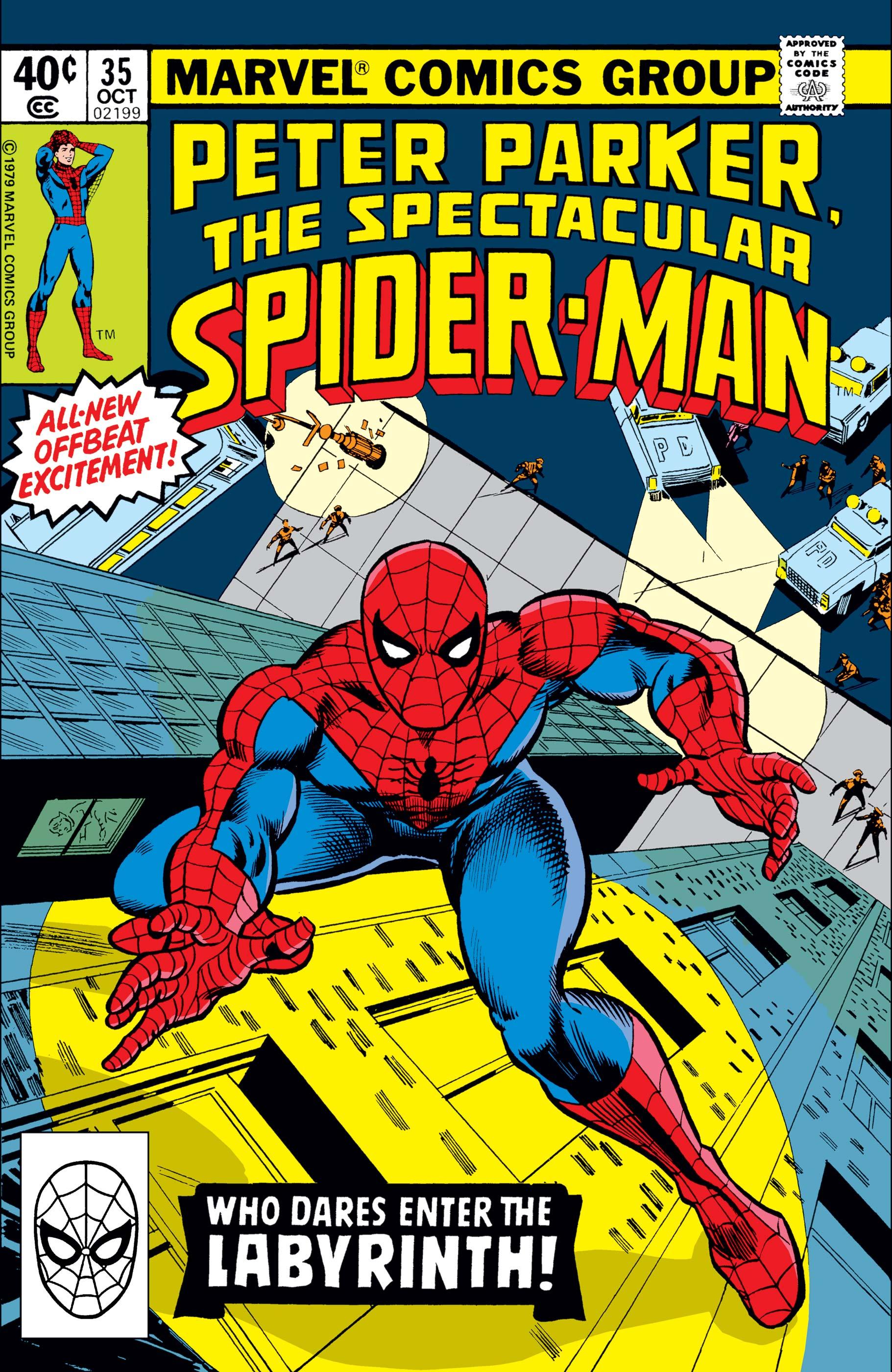 Peter Parker, the Spectacular Spider-Man (1976) #35
