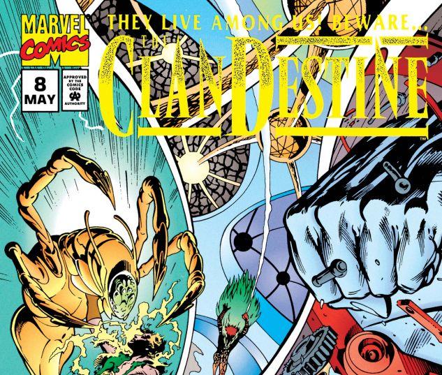 CLANDESTINE (1994) #8