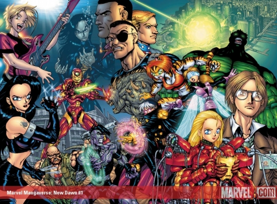 MARVEL MANGAVERSE: NEW DAWN 1 (2002) #1