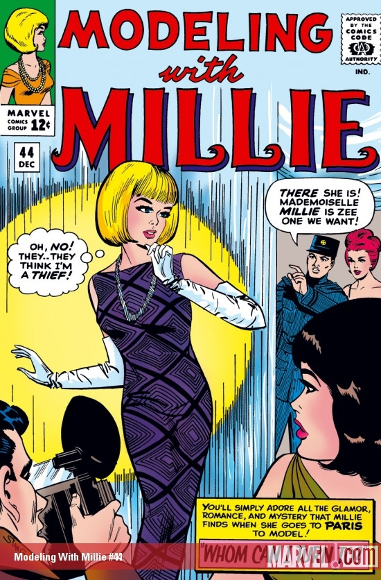 Modeling with Millie (1963) #44