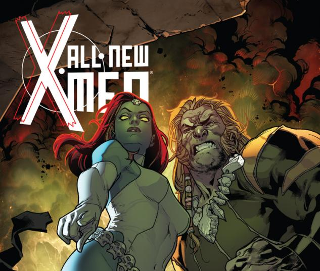 ALL-NEW X-MEN 9 2ND PRINTING VARIANT (NOW, WITH DIGITAL CODE)