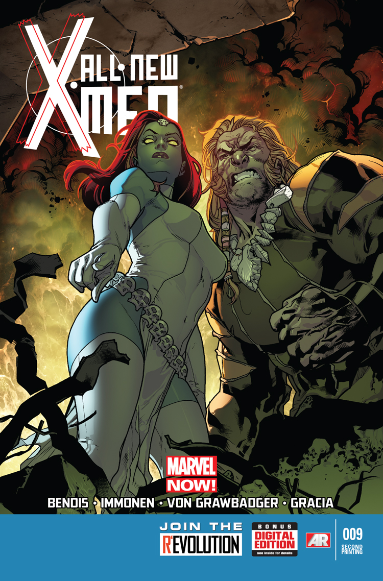 All-New X-Men (2012) #9 (2nd Printing Variant)