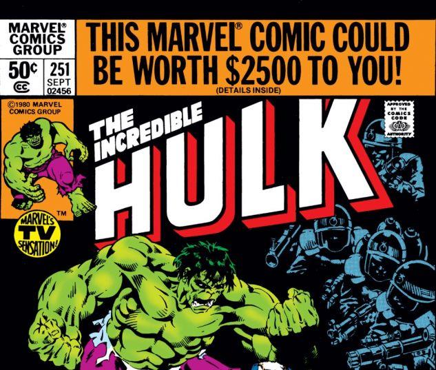 Incredible Hulk (1962) #251 Cover