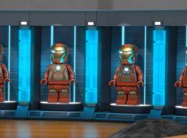 Iron Man's Hall of Armor in LEGO Marvel Super Heroes: Maximum Overload