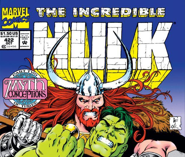 Incredible Hulk (1962) #422 Cover