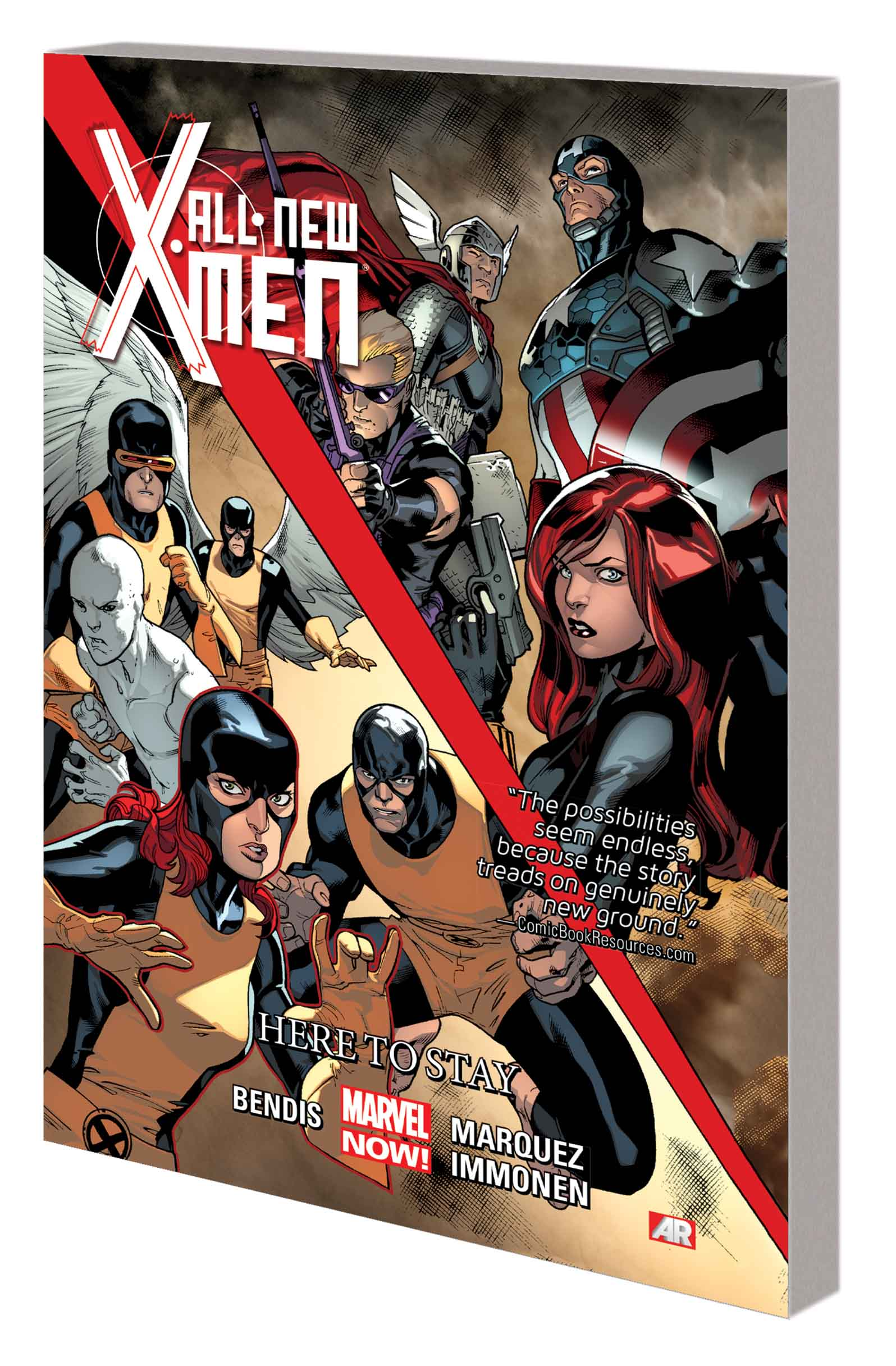 ALL-NEW X-MEN VOL. 2: HERE TO STAY TPB (Trade Paperback)