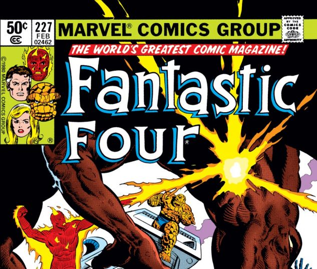 Fantastic Four (1961) #227 Cover
