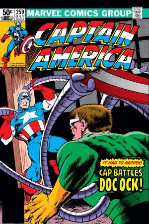 Captain America (1968) #259