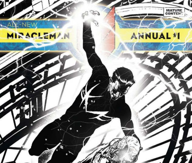 ALL-NEW MIRACLEMAN ANNUAL 1 QUESADA SKETCH VARIANT (POLYBAGGED)