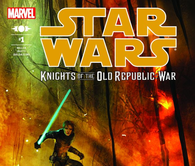 Star Wars: Knights Of The Old Republic - War (2012) #1
