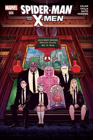 Spider-Man & the X-Men #6