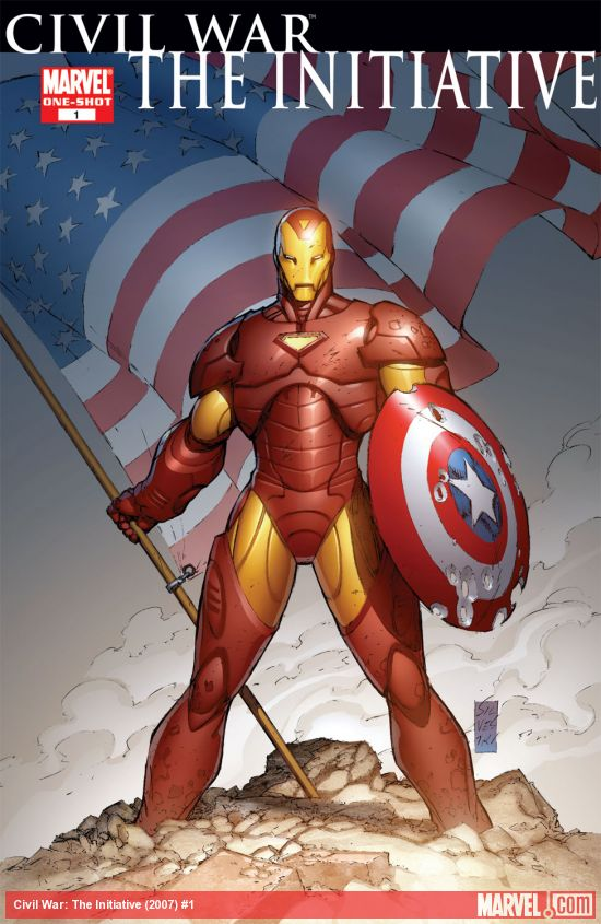 Civil War: The Initiative (2007) #1