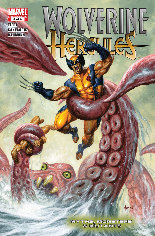 Wolverine/Hercules: Myths, Monsters & Mutants (2010) #4