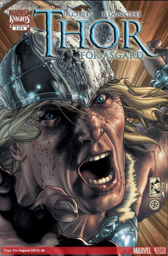 Thor: For Asgard (2010) #3