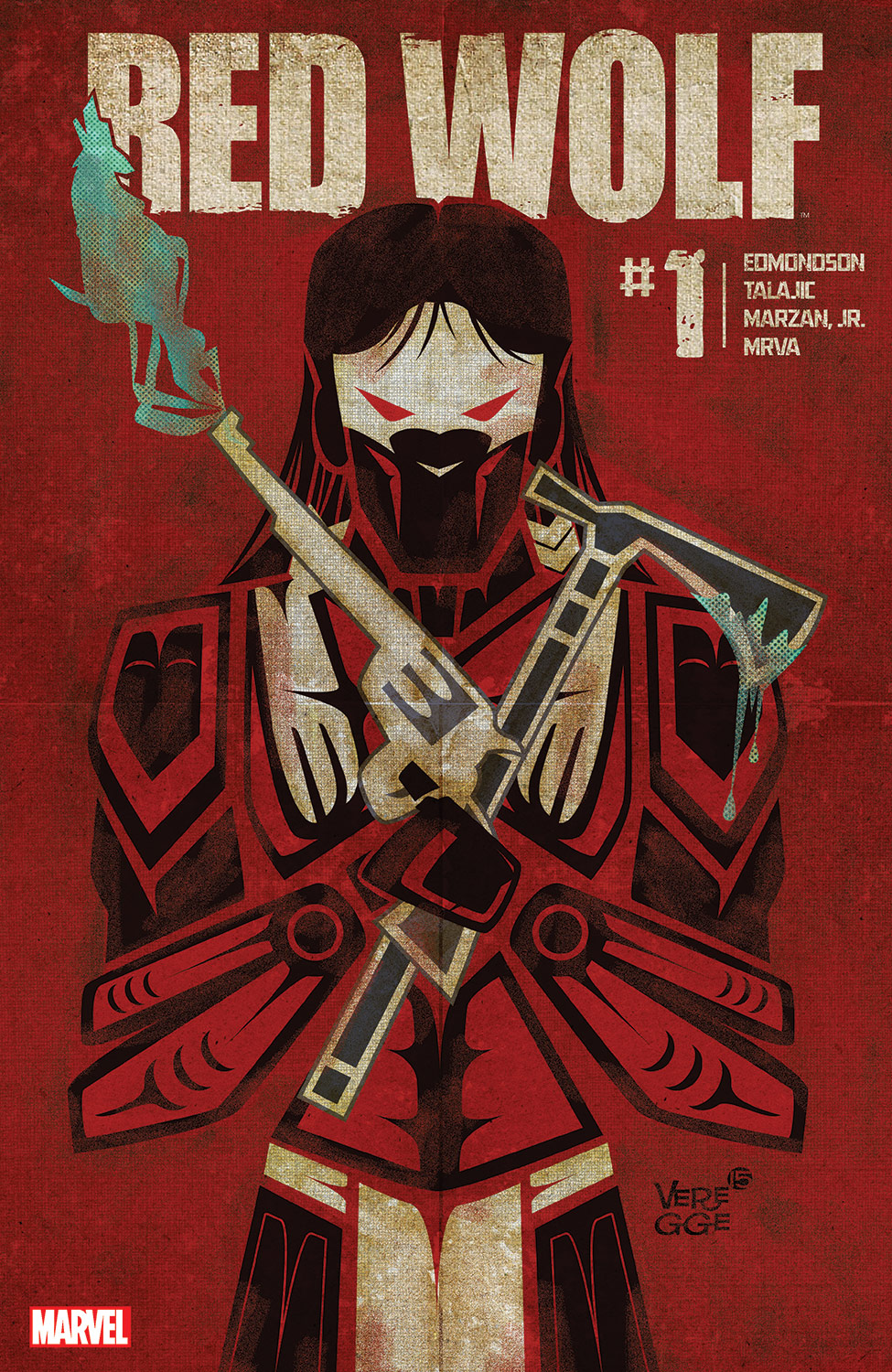 Red Wolf (2015) #1