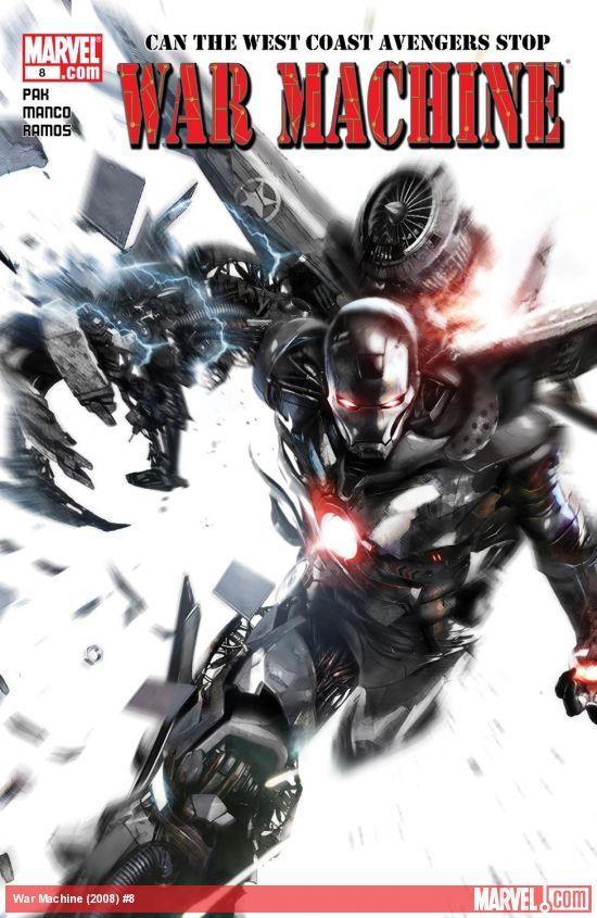 War Machine (2008) #8
