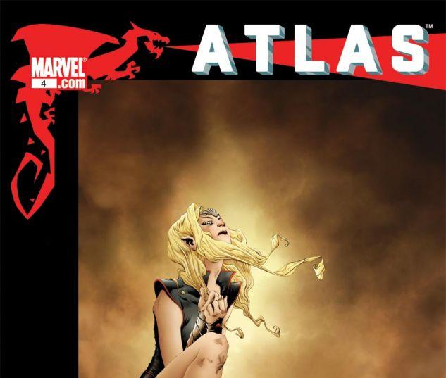 ATLAS (2010) #4 Cover