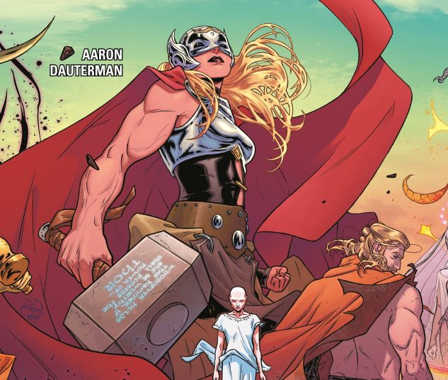 cover to Mighty Thor Vol. 1: Thunder in Her Veins