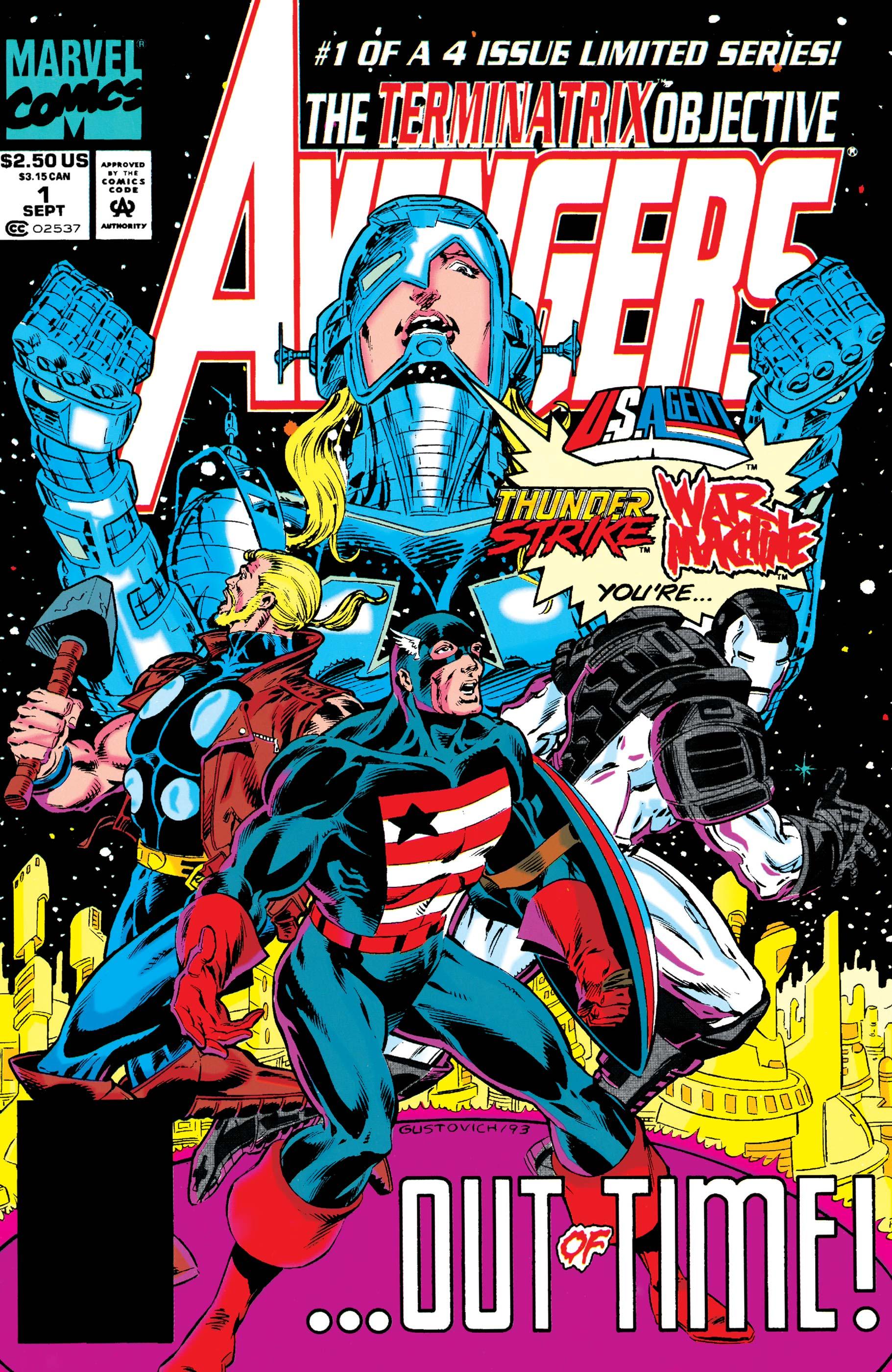 Avengers: The Terminatrix Objective (1993) #1