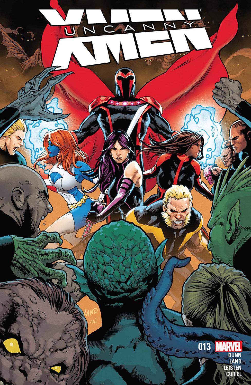 Uncanny X-Force #17 Comic Book 2014 NOW Marvel