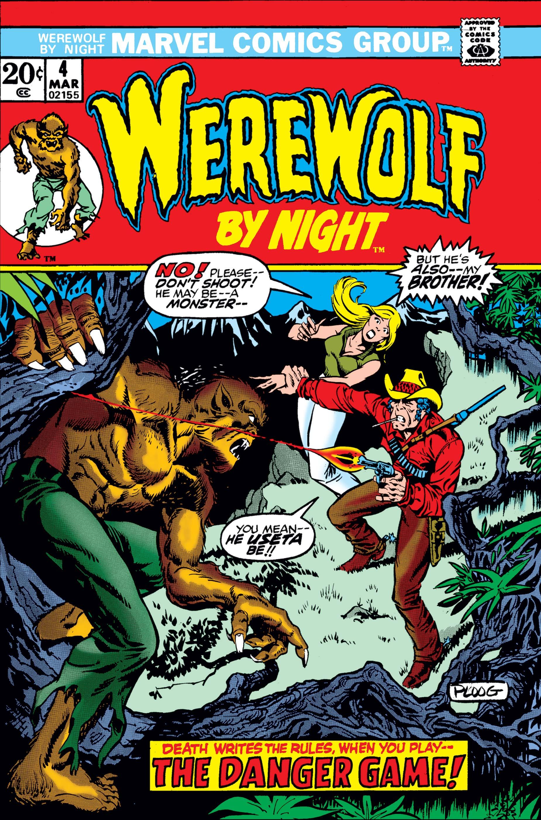 Werewolf By Night (1972) #4