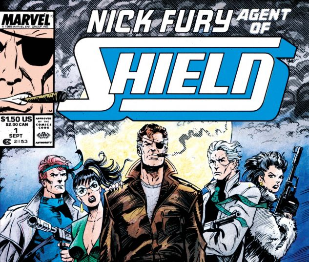 Nick Fury, Agent of Shield (1989) #1