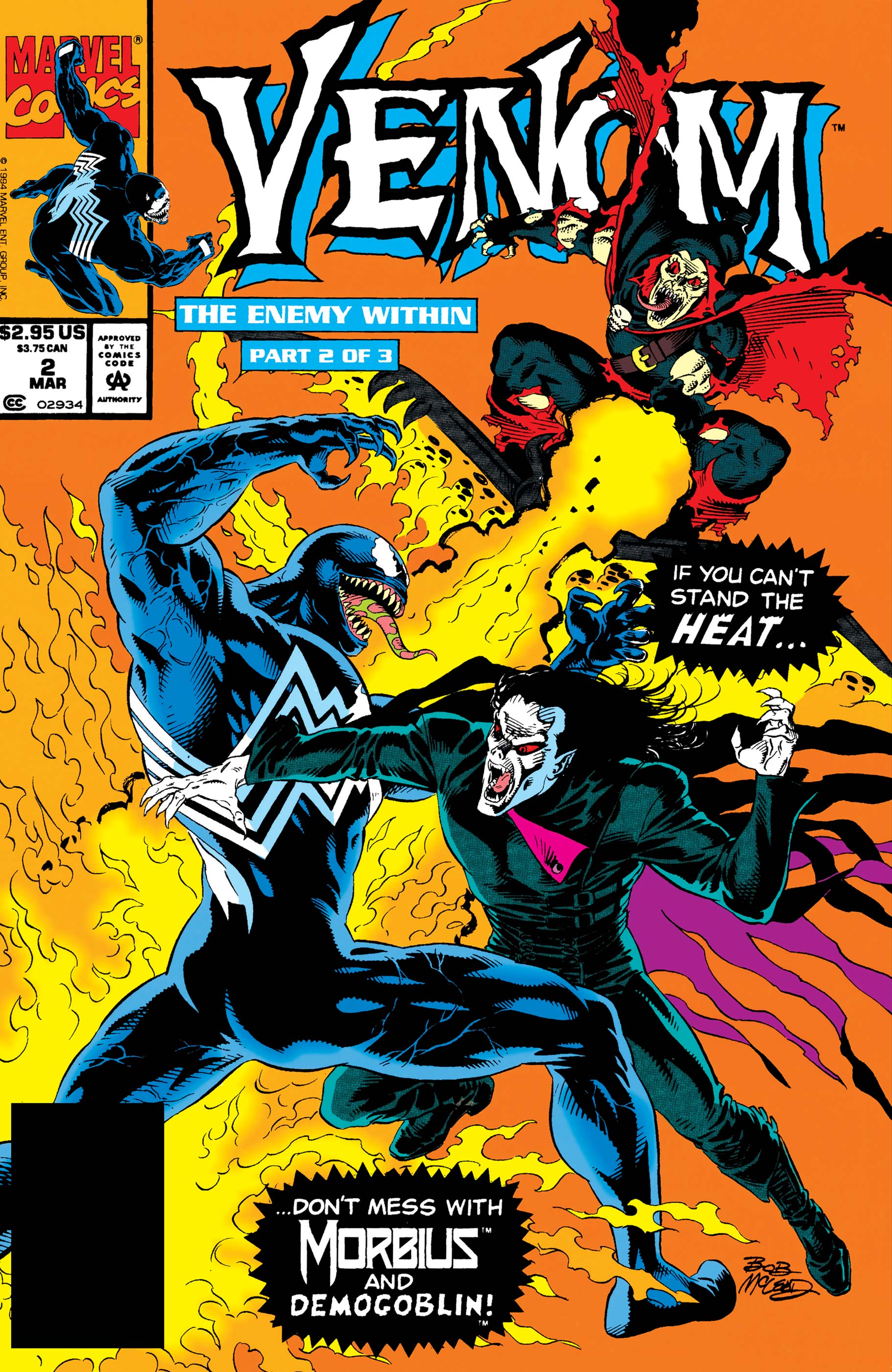Venom: The Enemy Within (1994) #2