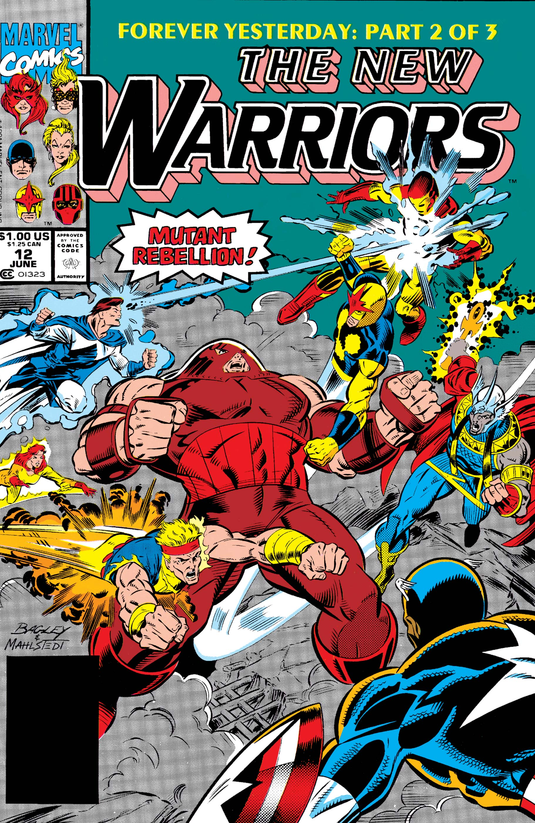 New Warriors (1990) #12