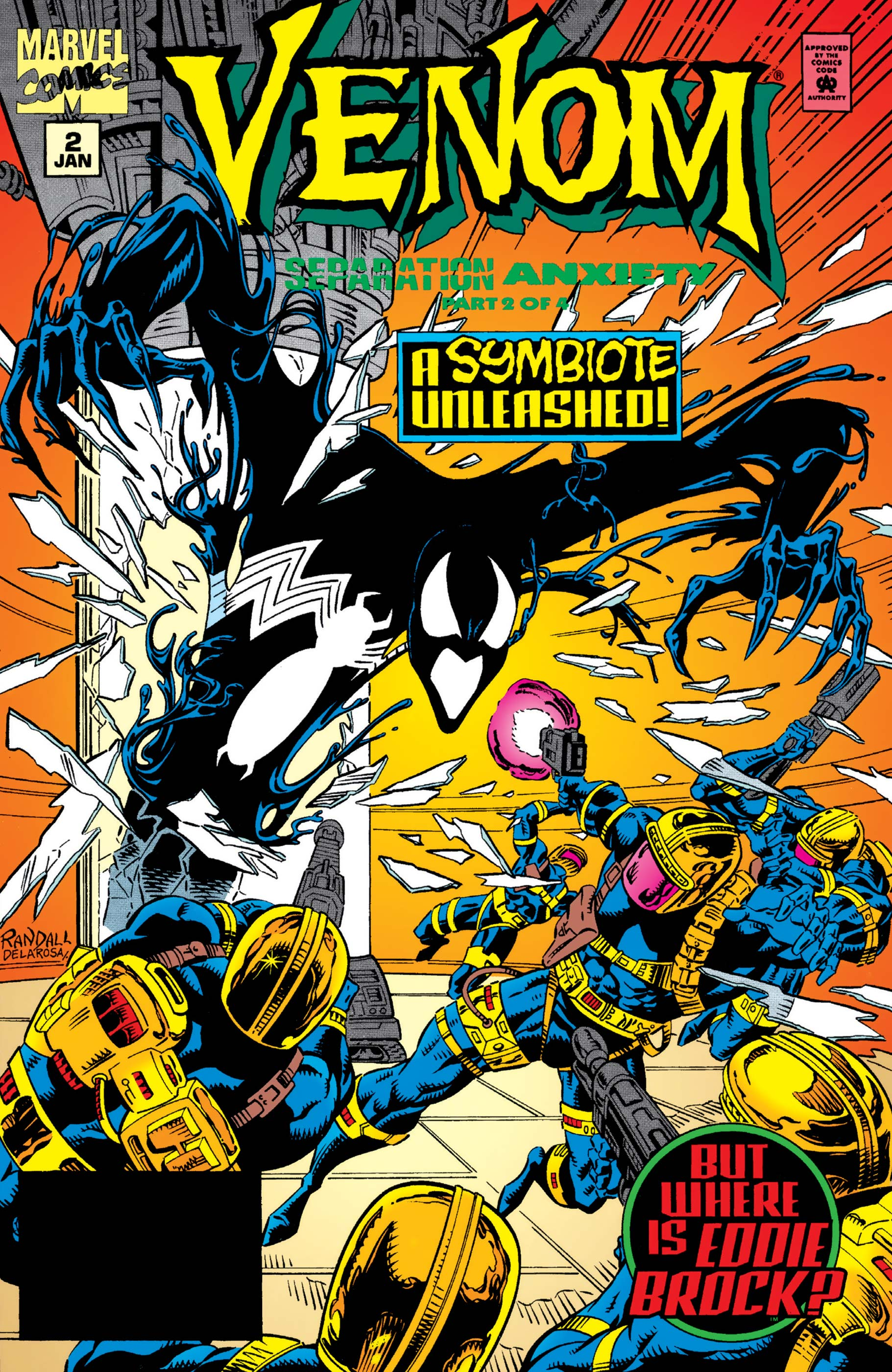 Venom: Separation Anxiety (1994) #2