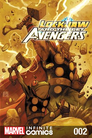 Lockjaw and the Pet Avengers (2017) #2
