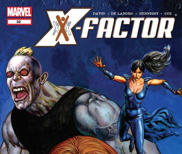 X-FACTOR (2005) #32