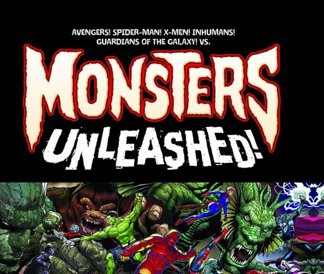 cover from MONSTERS UNLEASHED: MONSTER-SIZE HC (2017) #1