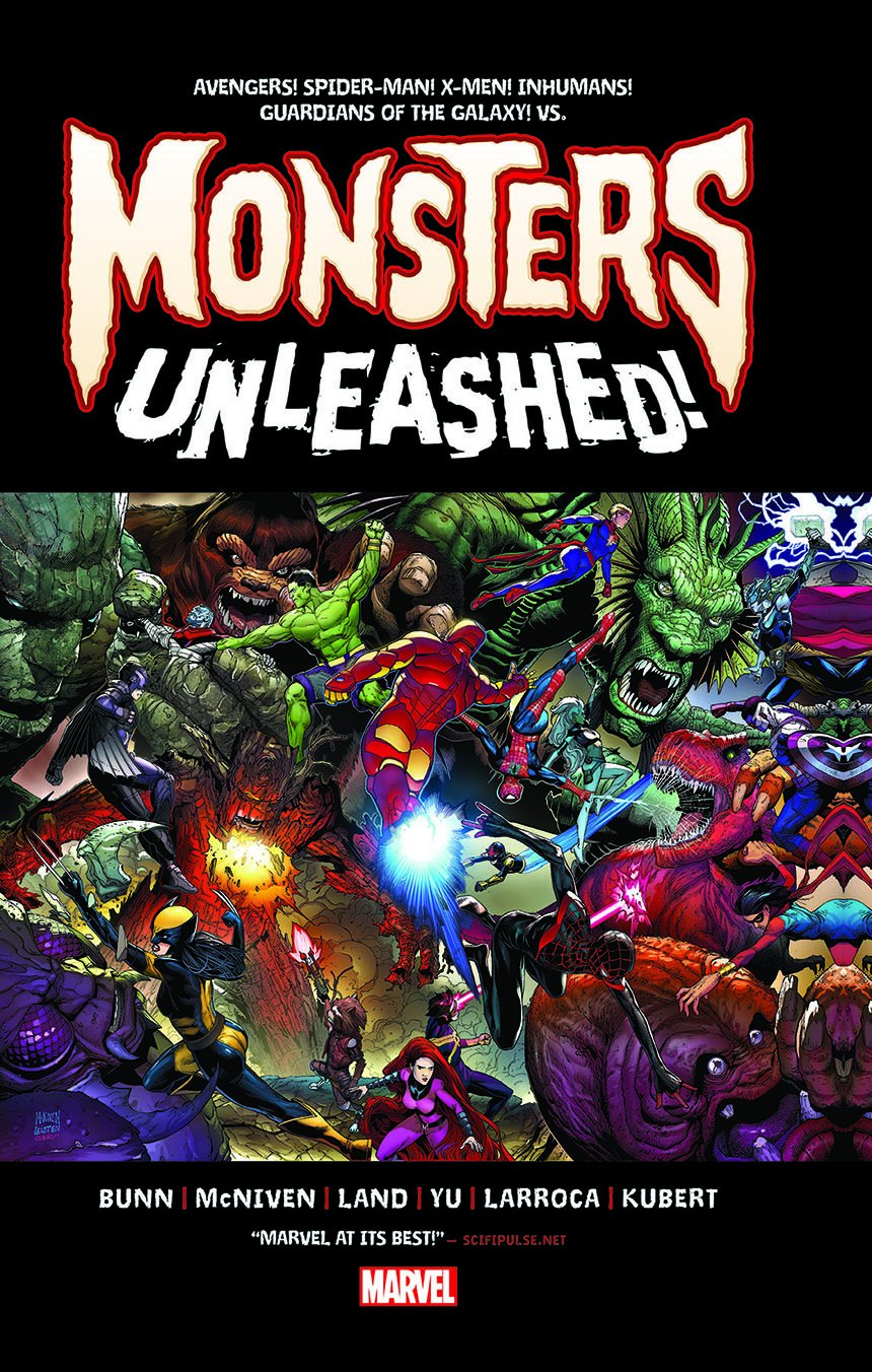 Monsters Unleashed: Monster-Size (Hardcover)