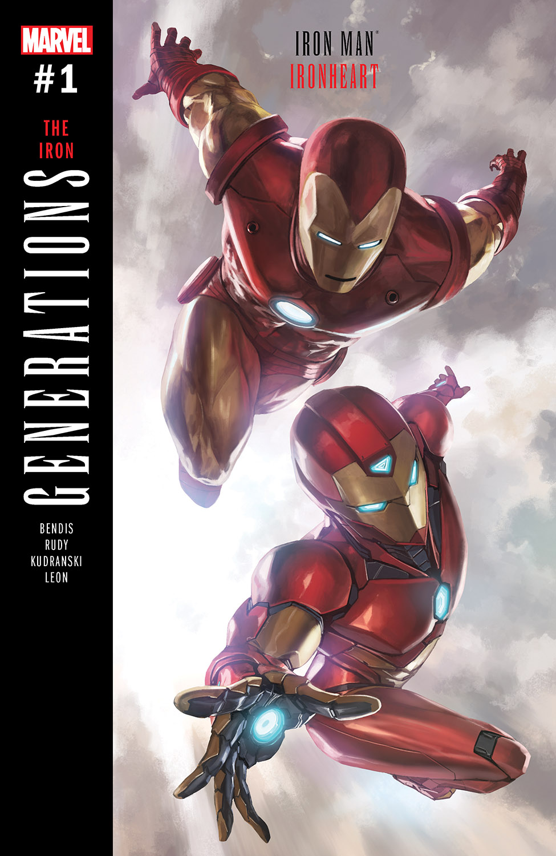 GENERATIONS: IRON MAN & IRONHEART 1 (2017) #1