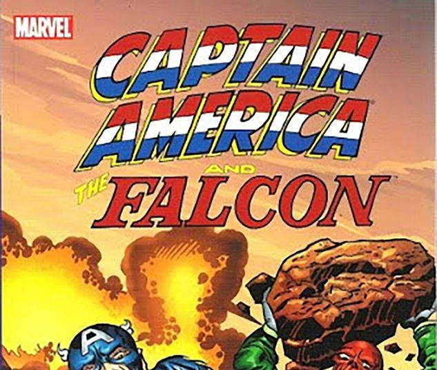 cover to Captain America and the Falcon: The Swine (2006)