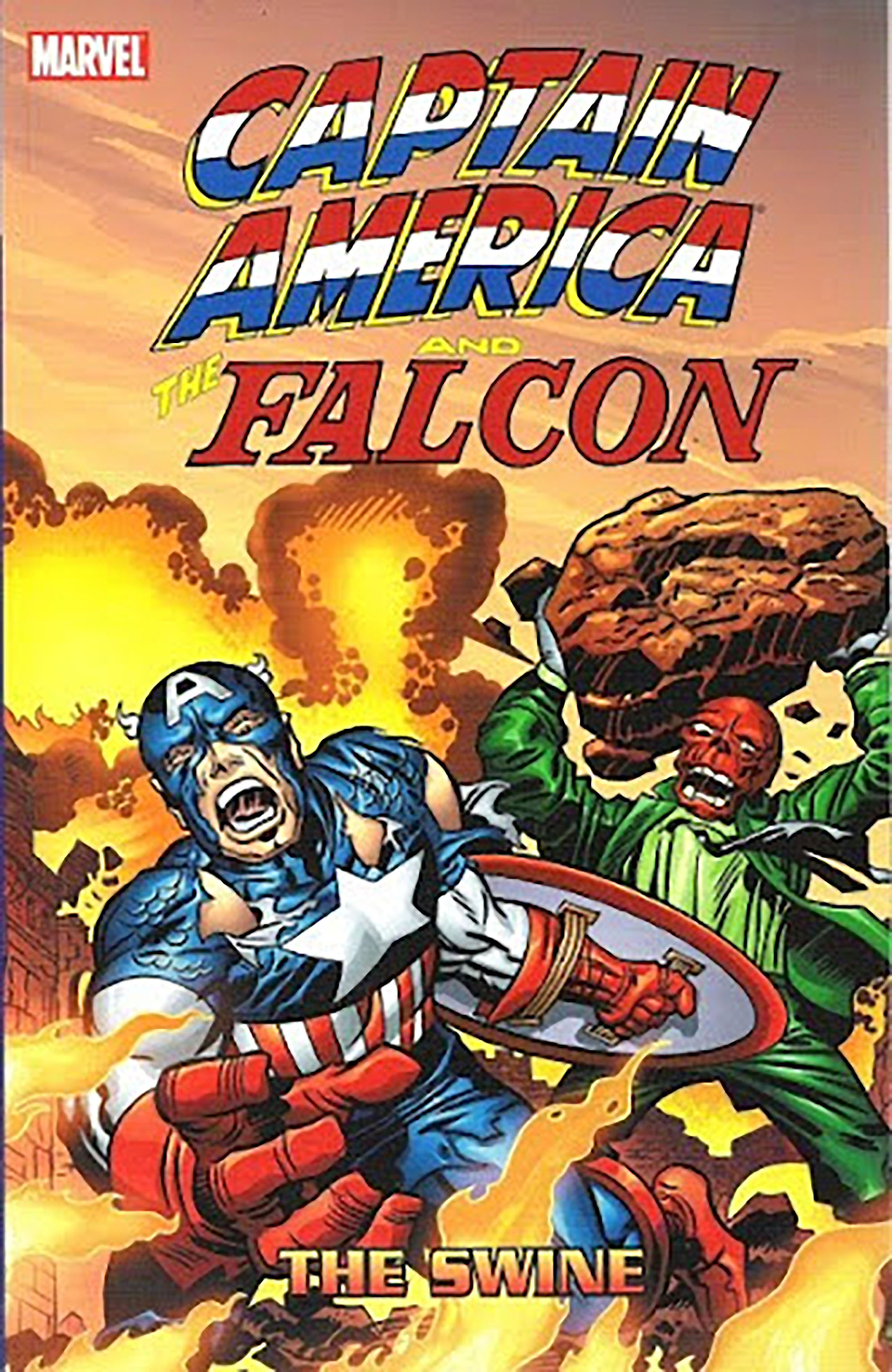 Captain America and the Falcon: The Swine (Trade Paperback)